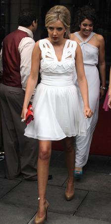Alice Barlow at the British Soap Awards on May 14, 2011