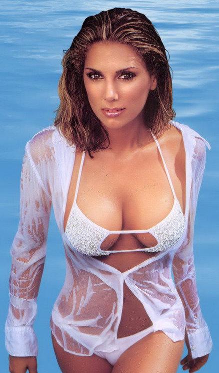 Daisy Fuentes in a bikini