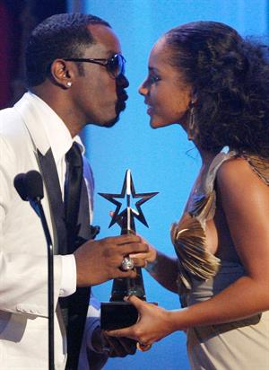 Alicia Keys at the BET awards show on June 24, 2008