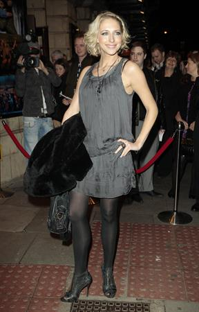Ali Bastian Flashdance the Musical opening night performance party in London on October 14, 2010