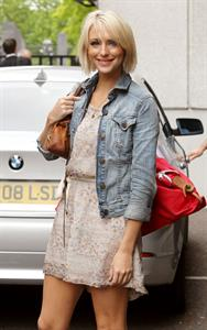 Ali Bastian at ITV Studios on July 29, 2010