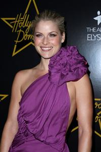 Ali Larter attends Hollywood Domino Game launch Benefiting the Art of Elysium