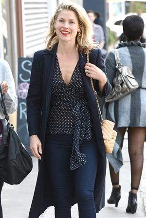 Ali Larter out and about in LA on January 29, 2013