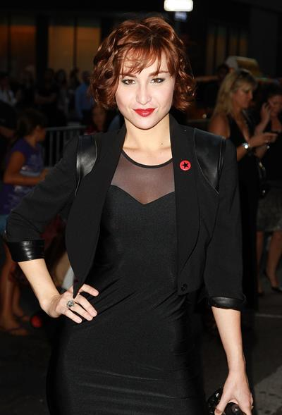 Allison Scagliotti - The Romantics NYC Premiere 9/7/10