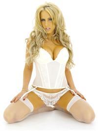 Danielle Mason in lingerie
