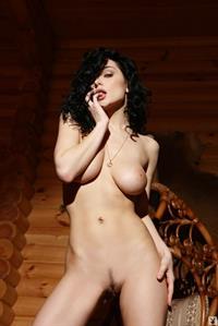 Katie Fey strips bikini and shows her beautiful natural body.