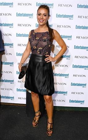 Alyssa Milano Entertainment Weekly's 6th annual pre Emmy celebration party honoring the Emmy nominees in Beverly Hills