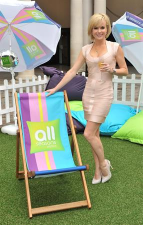 Amanda Holden at the All Seasons Hotel's Launch Covent Garden in London on June 17, 2011