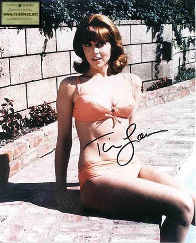 Tina Louise in a bikini