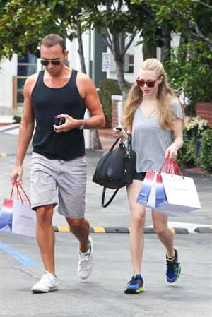 Amanda Seyfried - Leaving Fred Segal in West Hollywood - July 12 2012