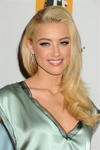 Amber Heard 15th annual Hollywood Film Awards Gala on October 24, 2011