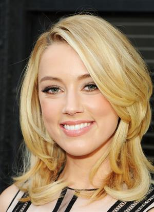 Amber Heard TCF television distribution Los Angeles screenings party at the Fox lot on May 26, 2011