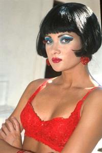 Stephanie Swift in lingerie