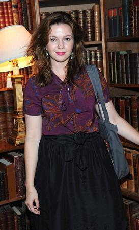Amber Tamblyn at the Paris Review in New York on July 11, 2012