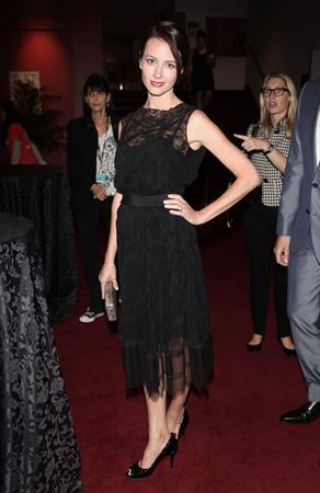 Amy Acker - Much Ado About Nothing premiere at Toronto Film festival - September 8, 2012