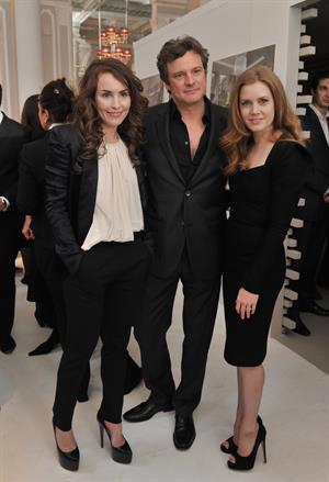 Amy Adams BAFTA Nomination Lunch in London England on February 12
