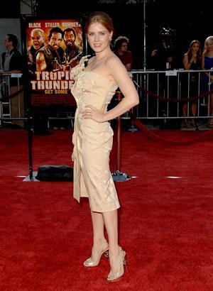 Amy Adams Los Angeles premiere of Tropic Thunder