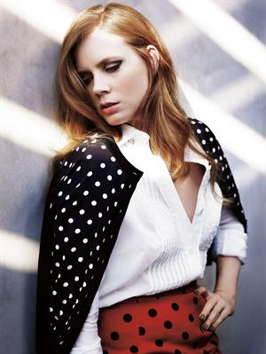 Amy Adams Mark Abrahams photoshoot for Marie Claire January 2011