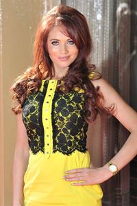 Amy Childs 2012 Tesco Magazine Mum of the Year 11.03.12