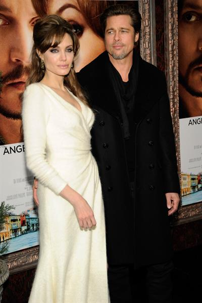 Angelina Jolie attends The Tourist world premiere in New York on December 6, 2010