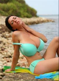 Merilyn Sakova in a bikini