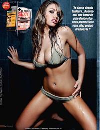 Emma Frain in a bikini