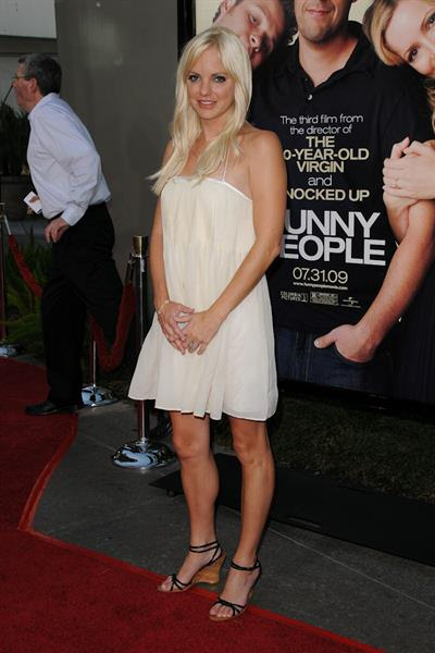 Anna Faris Los Angeles premiere Funny People at the Arclight Hollywood in Hollywood California