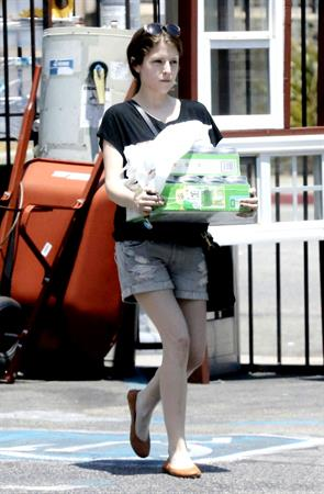 Anna Kendrick Rompage Hardware store in Los Angeles on 2/6/2012