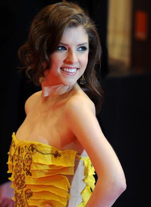 Anna Kendrick attends BAFTA Awards 2010 February 21, 2010