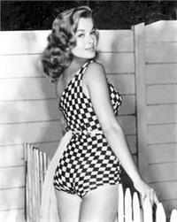 Leslie Parrish in a bikini - ass