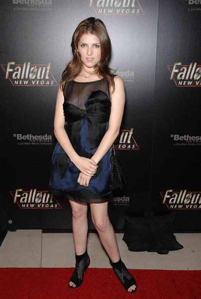 Anna Kendrick - Fallout New Vegas Launch Party 10/16/10