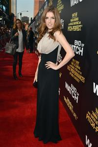 Anna Kendrick - End of Watch premiere in Los Angeles - September 17, 2012