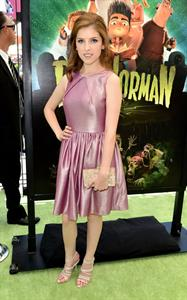 Anna Kendrick - Paranorman premiere - Universal City - August 5, 2012