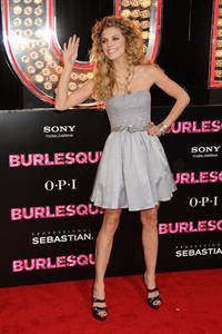 AnnaLynne McCord premiere of Screen Gems Burlesque on Novemeber 15, 2010