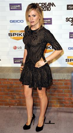 Anna Paquin Spike TV's Scream 2010 held at the Greek Theatre on October 16, 2010