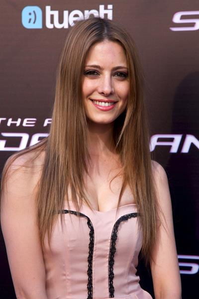 Aroa Gimeno - The Amazing Spider Man Madrid premiere on June 21, 2012