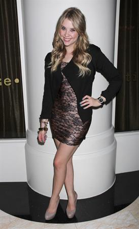 Ashley Benson celebrates her 21st birthday at Blush Nightclub in Las Vegas on Dec 21, 2010