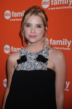 Ashley Benson ABC Upfront presentation at Beauty Essex on March 10, 2011