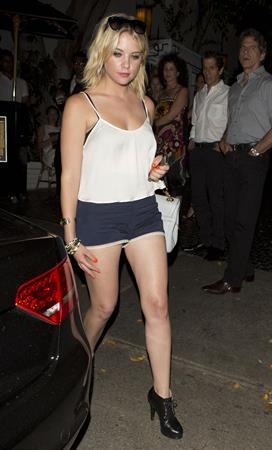 Ashley Benson - leaving the Chateau Marmont in West Hollywood Sept 15, 2012
