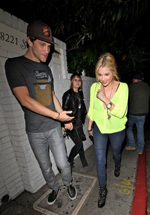Ashley Benson - Arrives at the Chateau Marmont in West Hollywood - June 8, 2012