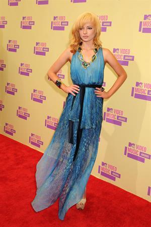 Ashley Rickards 2012 MTV Video Music Awards, Sep 6, 2012