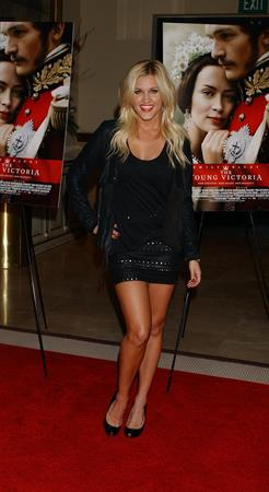 Ashley Roberts premiere of the Young Victoria at Pacific Theatre at the Grove in Los Angeles, California