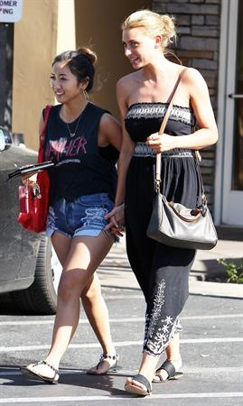Brenda Song Studio City Candids June 7th 2012