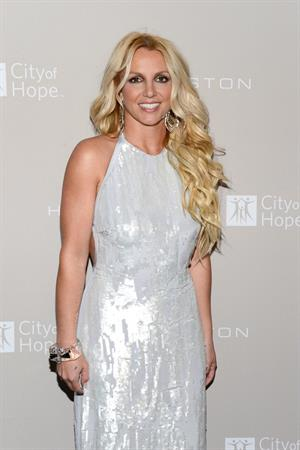 Britney Spears City of Hope Honor CEO Ben Malka with Spirit of Life Awards LA on October 10, 2012