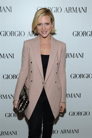 Brittany Snow Giorgio Armani Beauty Luncheon, Dec 6, 2012