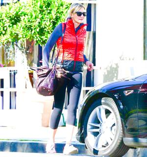 Cameron Diaz leaving the gym in Los Angeles 1/5/13