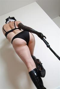 Lady Gia NyC in lingerie - ass
