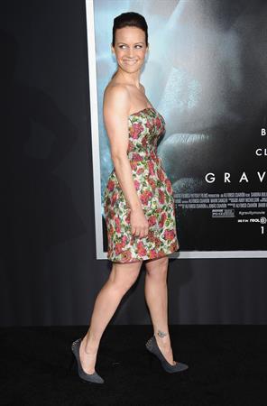 Carla Gugino  Gravity  New York Premiere on Oct. 1, 2013