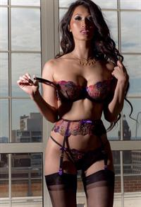 Angie Vu Ha in lingerie