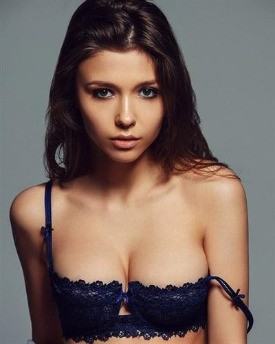 Mila Azul in lingerie